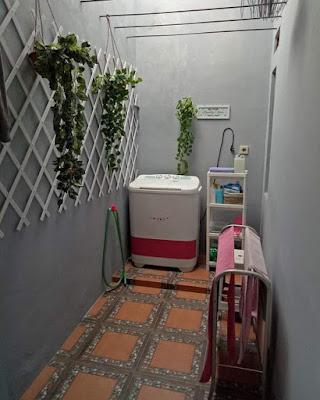 Inspirasi Rumah Minimalis Tipe 50 Ruang Cucian