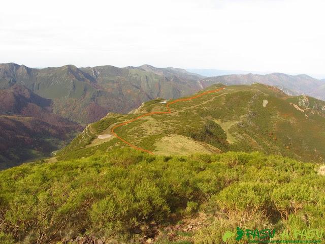 Bajando del Alto de la Cogocha a las Lagunas del Páramo