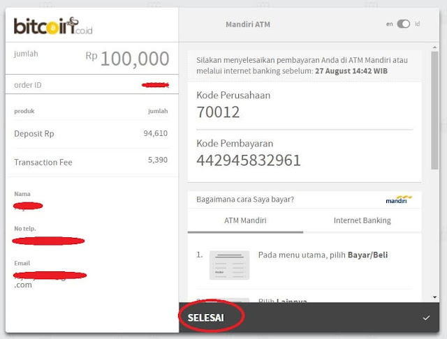 Tutorial Trading Bitcoin di Bitcoin.co.id