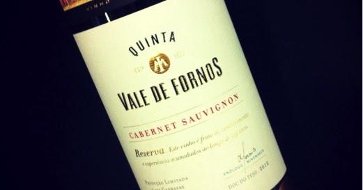 Avinhar: Quinta Vale de Fornos tinto 2012 Reserva Cabernet Sauvignon