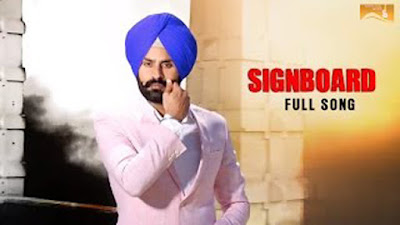 Signboard Lyrics - Rupinder Aujla | Mista Baaz | White Hill Music