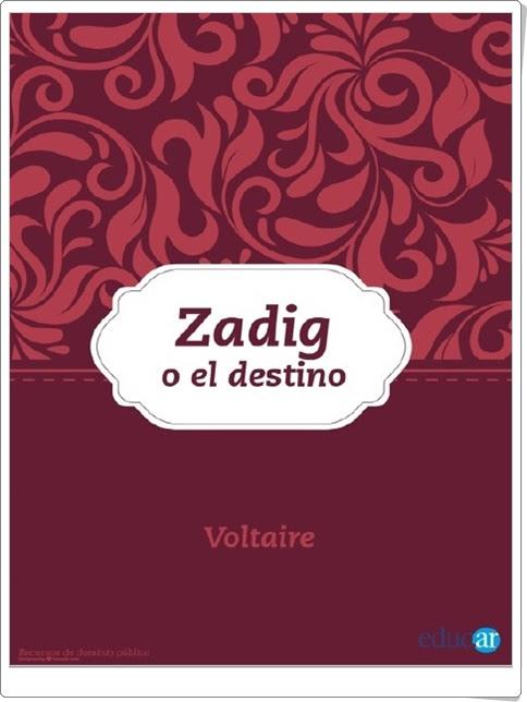"""""""Zadig o el destino"""" de Voltaire"""