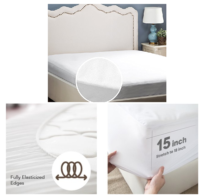 Cool Waterproof Mattress Protector Sale Queen Size Twin Size Full Free Shipping With Amazon Prime or Order Great deal at off