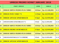 Umroh Plus Turki Januari 2019 - Nava Tours