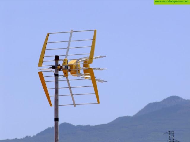 La Palma se prepara para el segundo dividendo digital que implica la resintonización de los canales TDT