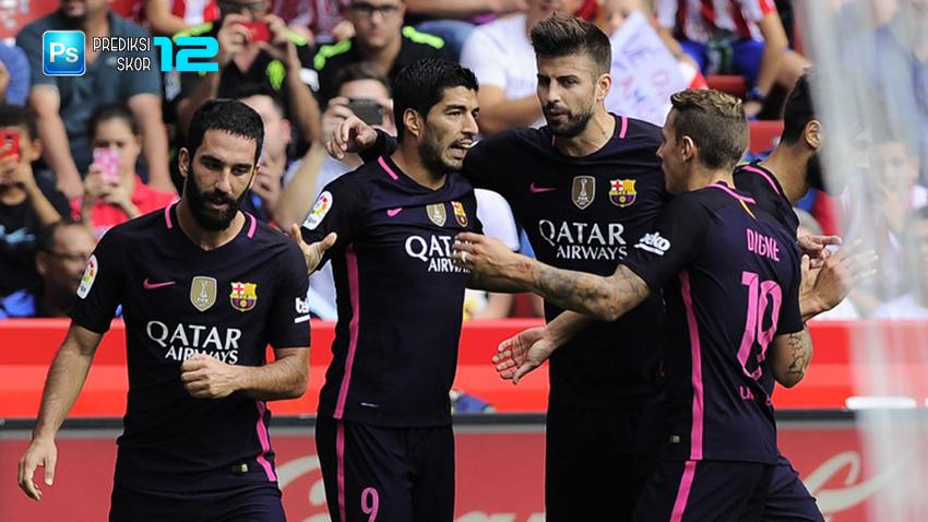 Prediksi skor Borussia Monchengladbach vs Barcelona 29 September 2016