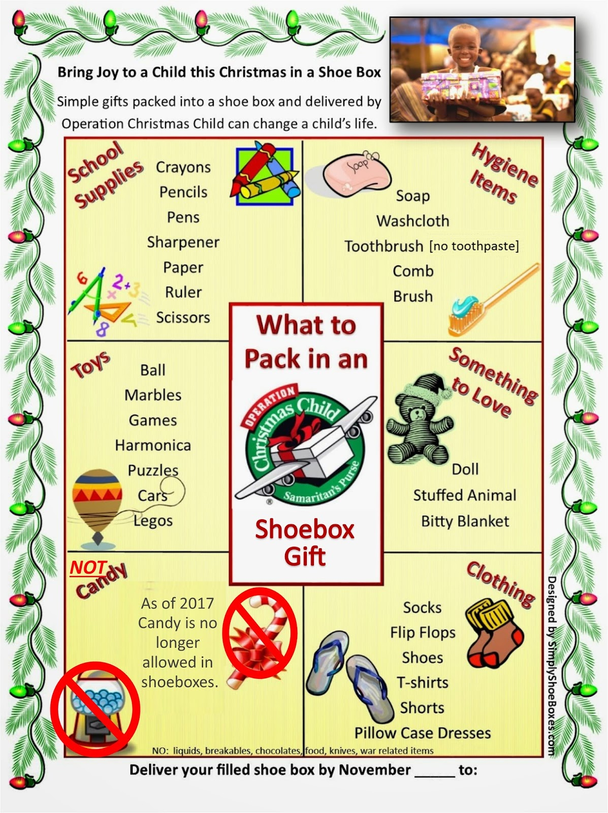 Operation Christmas Child Labels Printable.Simply Shoeboxes What To Pack In An Operation Christmas