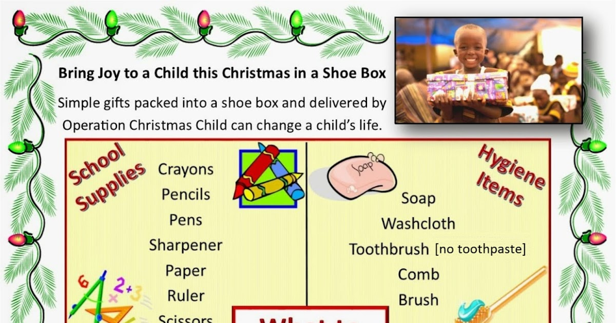 Operation Christmas Child Labels To Print.Simply Shoeboxes What To Pack In An Operation Christmas