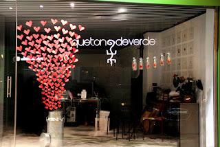 Decoración de Tiendas para San Valentín