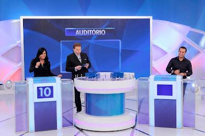 Gretchen, Silvio e Thammy - Crédito: Lourival Ribeiro/SBT