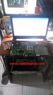 Service Laptop Asus A42F Mati