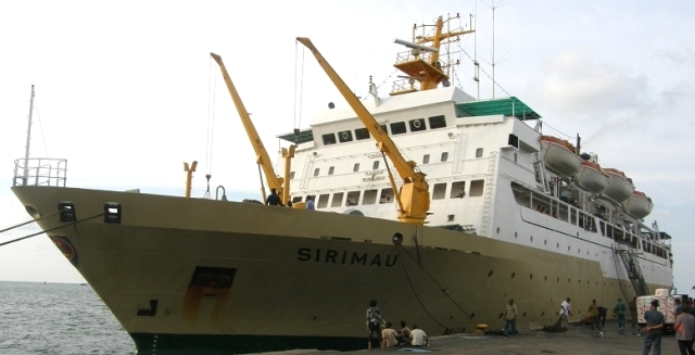 Kapal Laut Pelni Sirimau