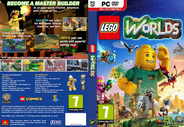 Capa LEGO Worlds PC