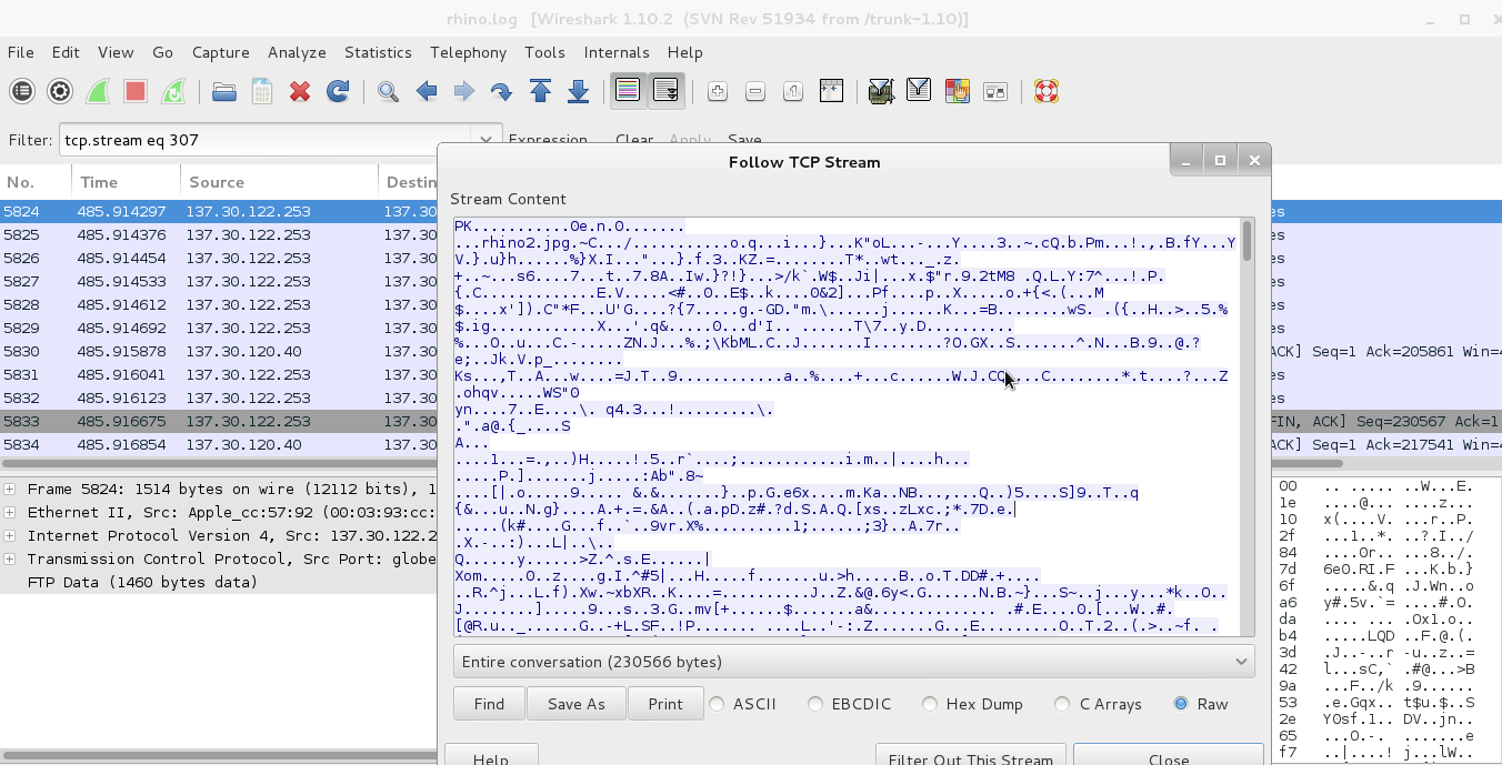 Digital Forensics / Cyber Security Student : Extract Zip File From