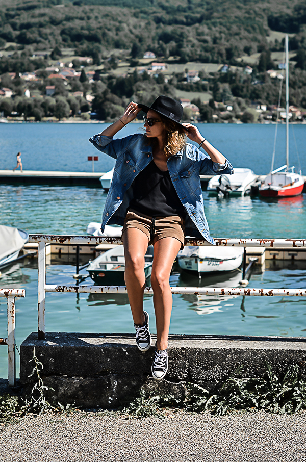 Veste en jean coupe ample Asos