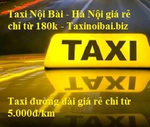 Taxi Nội Bài- Hà Nội giá rẻ