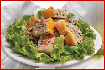 Salad nấm trứng cua- món ăn giảm cân ngon