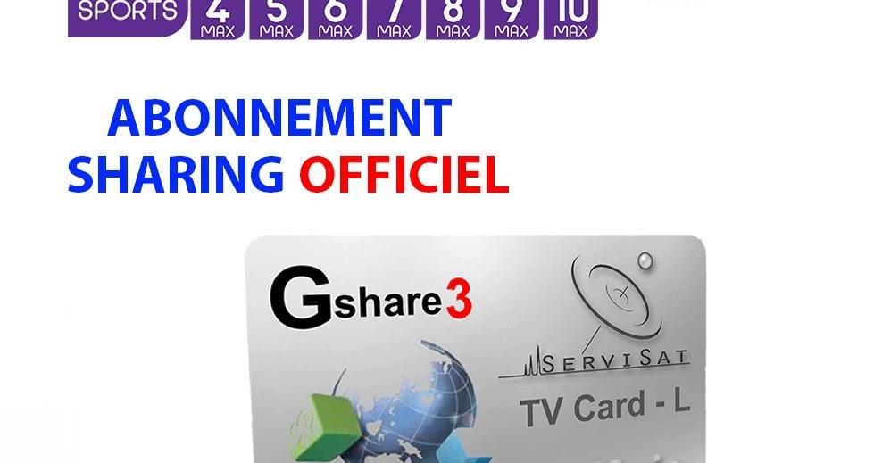 Serveur gshare gratuit starsat Tv wifi