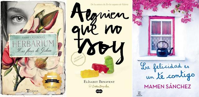 Mis portadas favoritas de romántica española