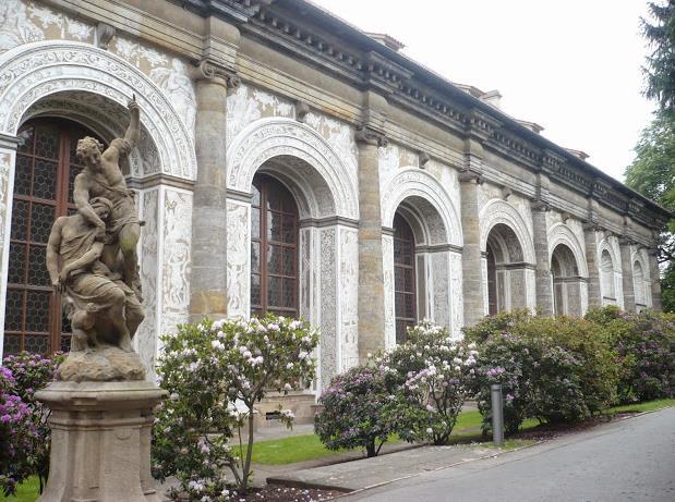 giardini del castello: palazzo della Pallacorda