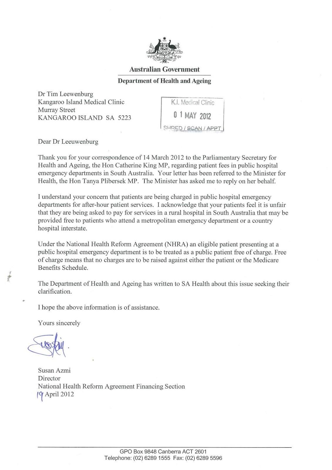 Resignation Letter Example Australia – Resignation Letter Australia