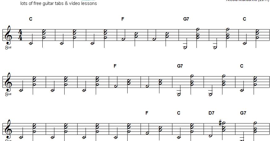Piano piano chords jingle bells : Guitar : guitar chords jingle bells easy Guitar Chords also Guitar ...