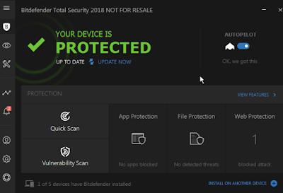 تحميل برنامج Bit Defender لمكافحة الفيروسات 2018 برابط مباشر