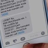 SMS Banking Mandiri Transfer Ke Bank Lain