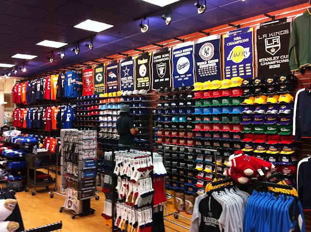 Lojas de marcas esportivas em Miami: departamento