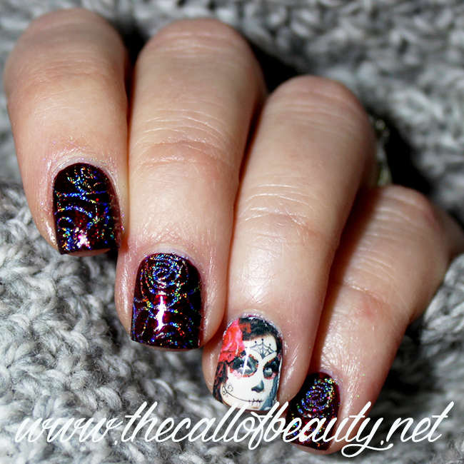 Anti-Valentines Manicure