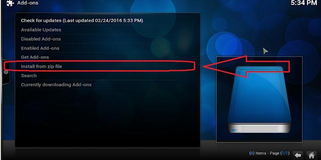 إضافة awesome streams على برنامج Kodi لمشاهدة أفضل القنوات