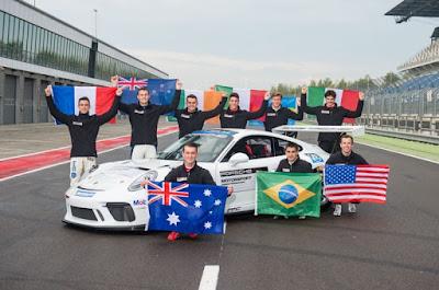 Porsche Junior Programme Shootout, realizado em 2017 em Lausitzring com a presença do brasileiro Rodrigo Baptista Porsche