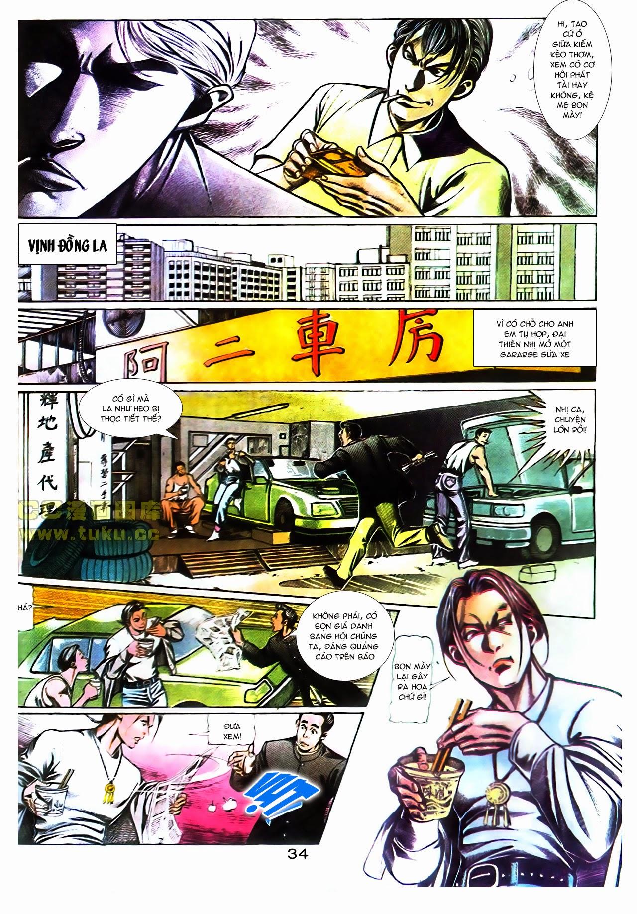 Người Trong Giang Hồ chapter 104: tuổi trẻ máu lửa trang 13