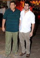 David Dhawan dan Rohit Dhawan (ayah dan saudara Varund Dhawan)
