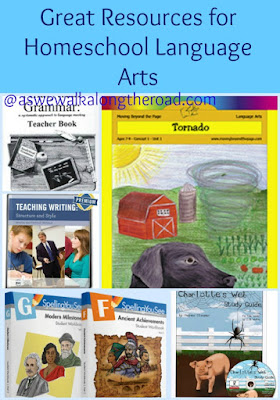 Homeschool language arts resources