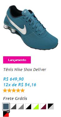 6c755558b8143a Onde Comprar Tênis Nike Shox Deliver Online- Cor e Preço