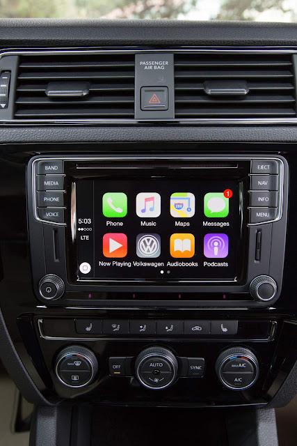 VW Jetta 2016 - novo sistema multimídia