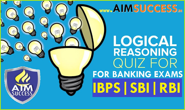 Reasoning MCQ for SBI PO/ Clerk 2018: 5 June