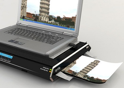 laptophoz csatlakoztatott nyomtató