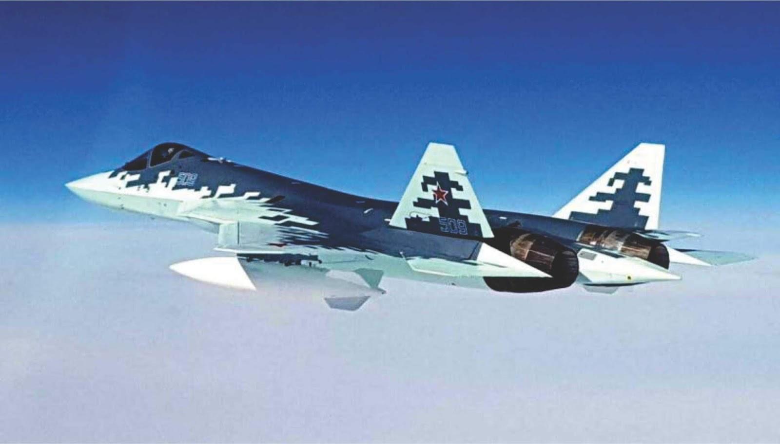 Su-57 akan menjadi tantangan besar bahkan untuk pesawat tempur modern musuh