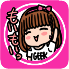 HARUKO MOMOI's Sticker <Basic>