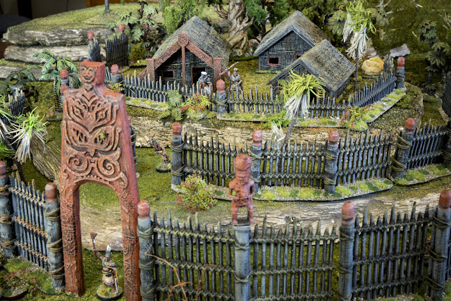 Printable Scenery: New 3D Printable Miniature Model Maori Pa