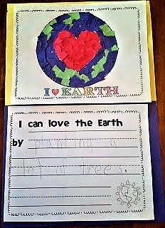 Earth Day, craft, bulletin board