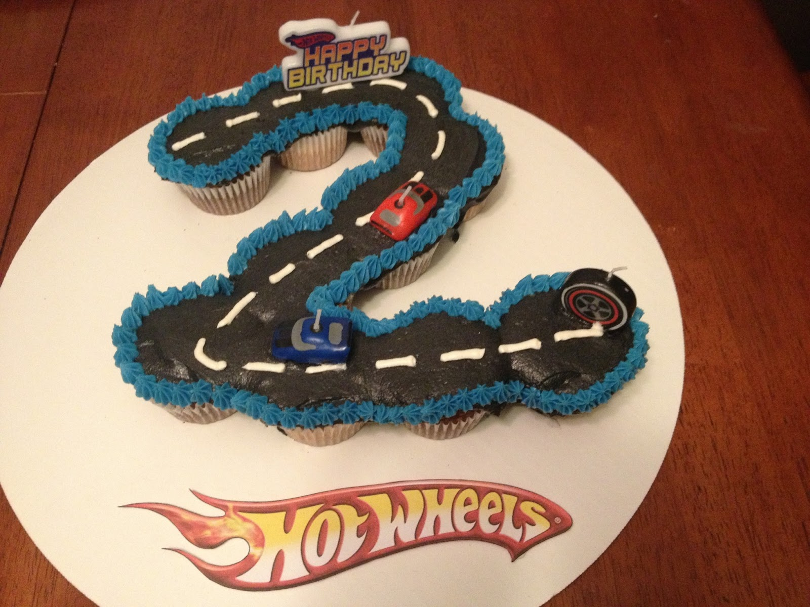 Shop Craft Bake Hot Wheels Party Cupcakes