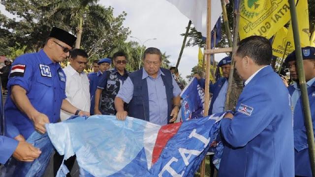SBY Gelar Rapat Darurat karena Wiranto Sebut Kader PD-PDIP Rusak Baliho