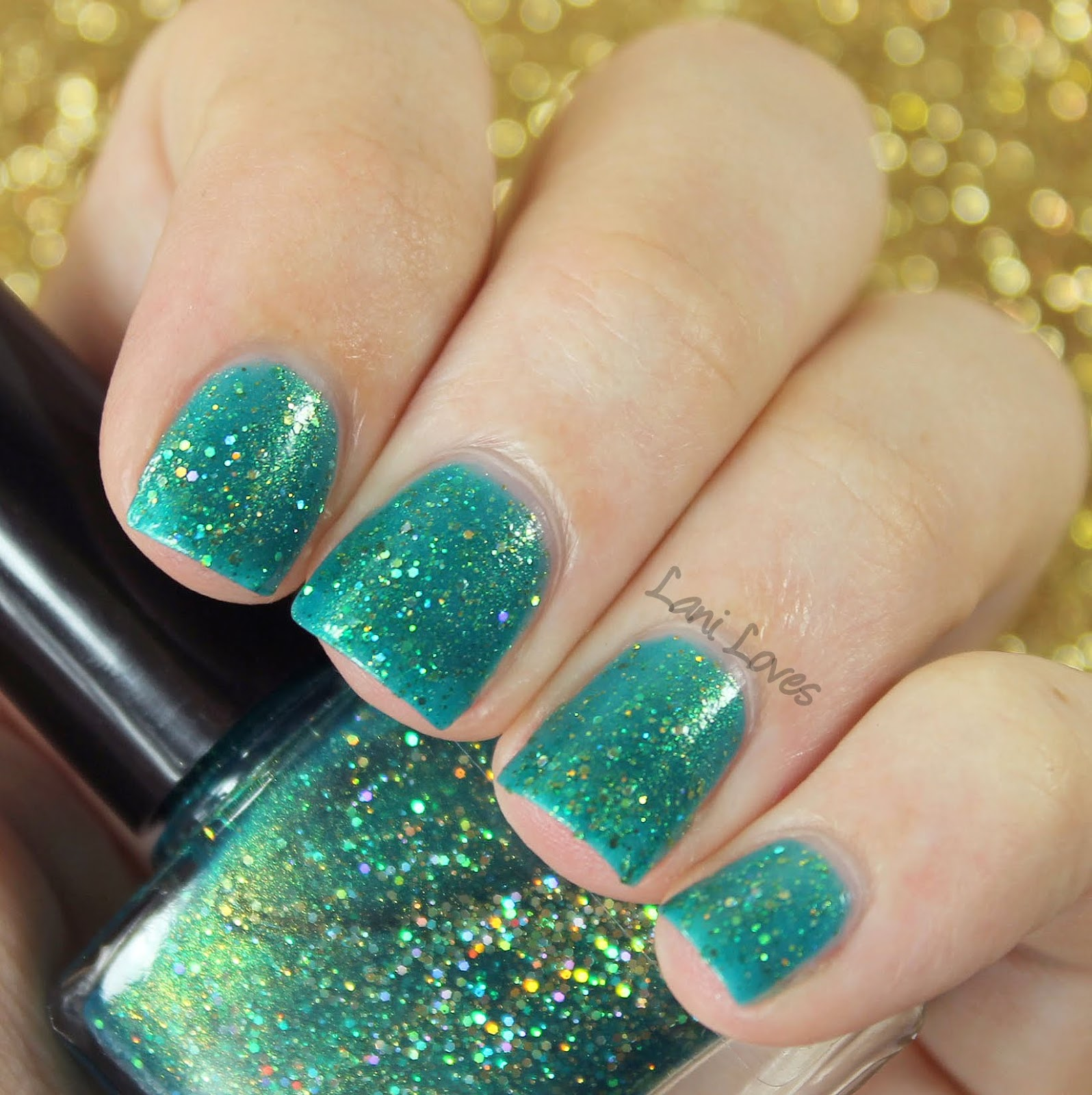 Femme Fatale Cosmetics Stand in the Clouds nail polish swatches & review