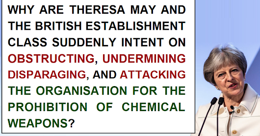 Why are the UK establishment class waging ideological war on the OPCW?
