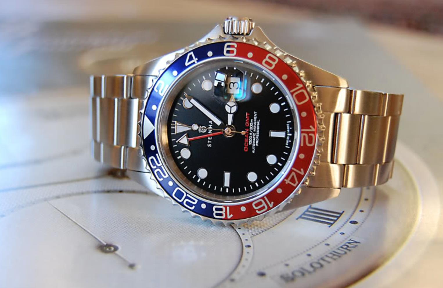 GMT: C-segment Wrist Watches: Pulled The Trigger : Seiko Pepsi