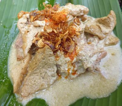 Lentog masakan khas Nusantara
