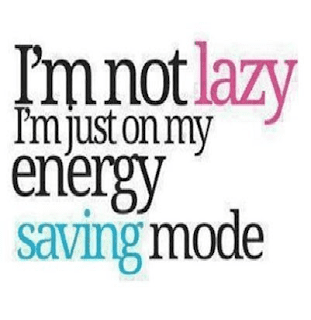 i am not lazy status